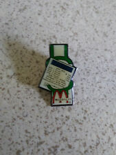 McDonald's Monopoly Game Boardwalk Employee Pin Back 1988 Vintage