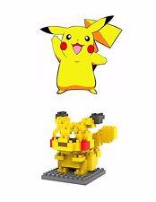 PIKACHU Nano Block Pokemon Diamond Mini Building Blocks Monster