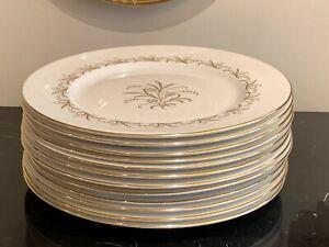 Paragon England Brides Bouquet Dinner Plates Set of 12