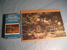 "VINTAGE PERFECT INTER-LOX PICTURE PUZZLE 275+ PCS  AN ENGLISH INN 15 1/4"" X 1/4"""