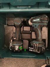 Makita 18V Estate Controlador de Impacto Taladro DHP458 y DTD152 con baterías 5.0Ah