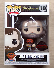 Funko Pop Icons Jim Henson With Ernie + Free Protector