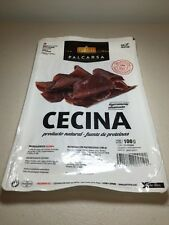 Premium Cecina Slices 100g Cured And Smoked  Beef From Leon Spain