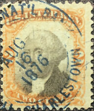 Scott #R135 US 1872 2 Cent Washington Internal Revenue Stamp