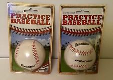 2 Franklin Sports Mlb Official League Synthetic Cover Practice Baseball 1532