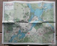 Faksimile 1993 des Pharus-Plan 1915 Potsdam / aus Königlichen Bibliothek Berlin