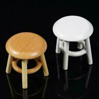 1:12 puppenhaus miniaturen mini hocker modell puppe zimmer dekor haus zubeh W1F2