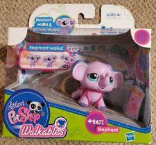 Littlest Pet Shop Walkables - Elephant #2471 - Walks & Moves Trunk - NEW IN BOX