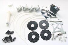 RC 4 Wheel Hydraulic Disc Brake Kit Fits HPI Baja 5b 5t 5sc Rovan King Motor