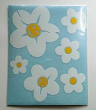 20 Daisy Flower Stickers - Self Adhesive*Body Panel*Graphic*Decal*White*