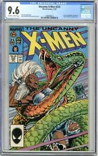 X-Men   #223   CGC   9.6   NM+   Off white to wht pgs  11/87  Freedom Force App.