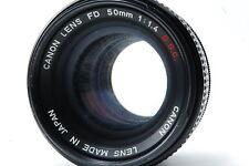 Canon FD 50mm F1.4 S.S.C. Lens SN642866