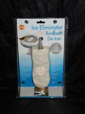 K&H Ice Eliminator Birdbath Deicer Bird Bath Water Heater New 50 Watts Winter