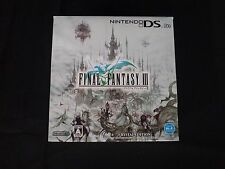 Nintendo DS Lite Final Fantasy III Crystal Edition Japan Version White Complete