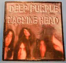 "DEEP PURPLE MACHINE HEAD LP 1972 RE '73 ""SMOKE ON THE WATER"" NICE COND! VG/VG!!A"