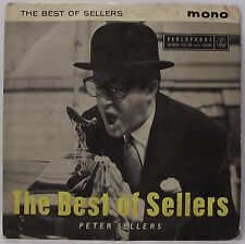 "PETER SELLERS : THE BEST OF SELLERS EP 7"" Vinyl Single 45rpm Mono PS VG"
