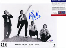 MIKE MILLS REM SIGNED AUTOGRAPH 8X10 PHOTO PSA/DNA COA #3
