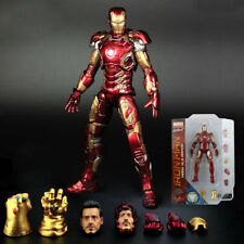 MARVEL SELECT IRON MAN MK43 MARK XLII ARMOR AGE OF ULTRON ACTION FIGURES KID TOY