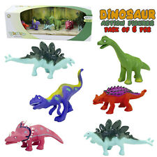 Dinosaur Action Figures Toys T-REX Gift for boys and girls Figures Set 6 Pcs