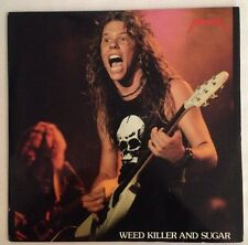 METALLICA WEED KILLER AND SUGAR  2xLP  VINYL Rare SOR 7507 Screaming Oiseau