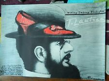 REDUCED! Original Signed Vintage Polish Poster by Mieczyslaw Gorowski/ T.Lautrec