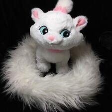 Disney Parks Aristocats Marie Pretty Kitty Plush Long Tail Boa Soft Toy Stuffed