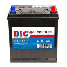 BIG Asia Silber Ca/Ca 12 V / 35 Ah - 280 A/EN 53517 Autobatterie PKW Batterie