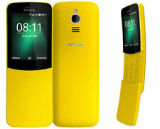 New Nokia 8110 Matrix Banana Retro Dual Sim Mobile Phone 2018 (YELLOW)
