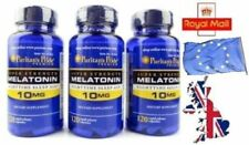 10MG x 360 Capsules Melatonin Melatonina INSOMNIA SLEEPING PILLS- SENT FROM UK