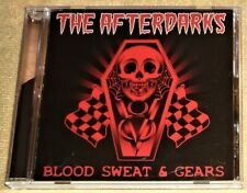 """CD by THE AFTERDARKS """"BLOOD, SWEAT & GEARS"""" / GREEN GOO RECORDS 2009"""
