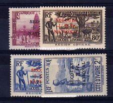 COTE D'IVOIRE n° 165/168 neuf sans charnière