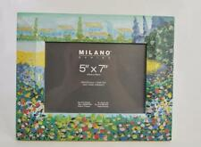 """NEW MILANO HAND PAINTED PICTURE PHOTO FRAME~For 5"""" x 7"""" NO BOX"""
