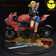 Dragon Ball Android 18 lazuli Statue Painted 1/6 GK Resin Model Moto Pre-order