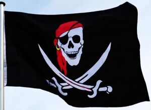 """Piratenflagge Fahne Flagge """"Crossed Swords"""" 150x90cm"""