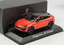 Porsche Cayenne S Coupe Lava orange Carbon Dach 2019 1:43 Norev WAP Dealer