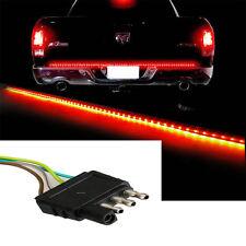 """For  Ford F-150 60"""" Trunk Tailgate Red/White Bar Reverse Brake Turn  LED Light"""