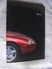 Jaguar XK8 Pressemappe / Press-kit, D, 1996