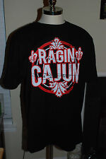 Jason Aldean Ragin Cajun Black T Shirt Large Brand NEW Tultex Made in Mexico