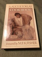 The Alice B.Toklas Cook Book 1984 30th anniversary edition Collectible VG HC DJ
