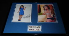 Meagan Holder Signed Framed 16x20 Photo Set AW Pitch Make It or Break It