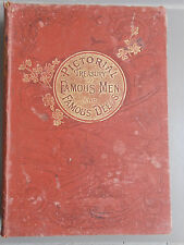 Pictorial Treasury of Famous Men and Famous Deeds circa 1890