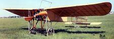 Bleriot XI France  Airplane Mahogany Kiln Wood Model Small New