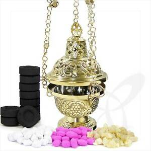 2938 Handmade Censer out of Brass church incense burner distiller кадильница NEW