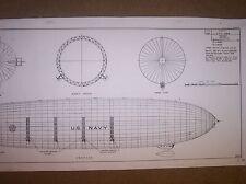 AIRSHIP AKRON model plans