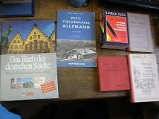 6 livres apprendre l' allemand dictionnaire/grammaire