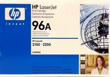 HP 96A LaserJet Print Cartridge C4096A For 2100 And 2200 Black