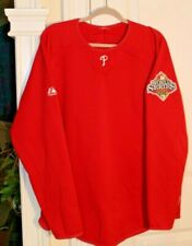 Philadelphia Phillies Red - Sz XL - 2008 World Series Patch on Arm - Therma Base