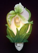 "Ibis & Orchid ""Lady Slipper Orchid "" Night Light"