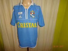 "Sporting cristal original adidas hogar camiseta 2000/01 ""cristal"" talla M-L Top"