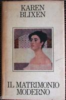 1986 Karen Blixen - IL MATRIMONIO MODERNO - CDE